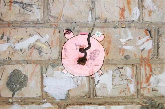 אמנות רחוב מקורית ומיוחדת
