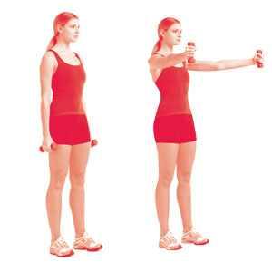 תרגילים לחיזוק זרוע אחורית