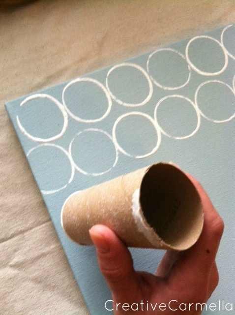 יצירה עם גליל נייר טואלט