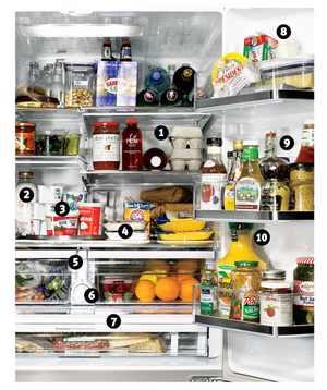 סידור המקרר