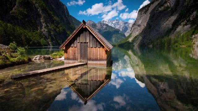 תמונות של בתי עץ כפריים