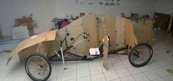 עשה זאת בעצמו - פורשה מאופניים