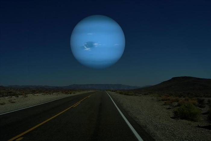 הדמייה של כוכבים קרובים לכדור הארץ