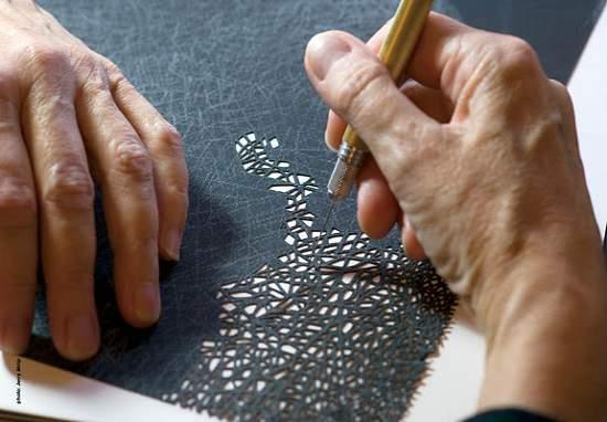 אמנות מדהימה בחיתוכי נייר