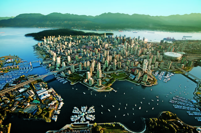 תמונות אווריות מדהימות של ערים מהעולם