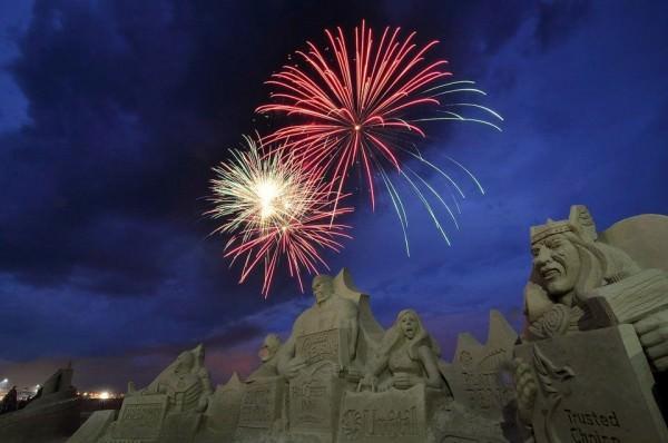 פסטיבל פסלי חול בהאמפטונס