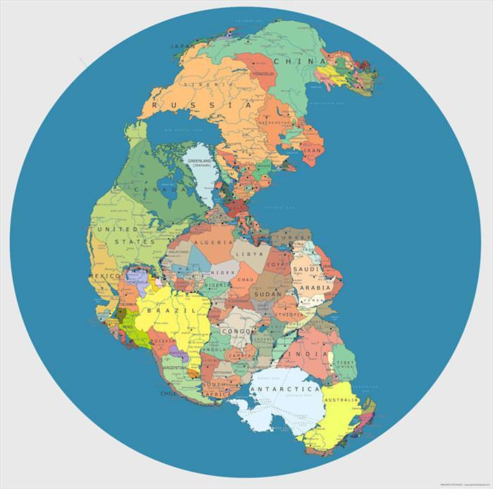 מפות שעושות סדר בכדור הארץ