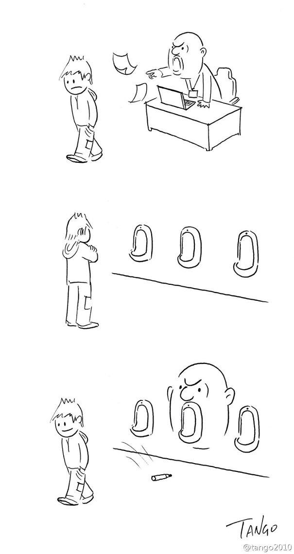 קומיקס מינימליסטי