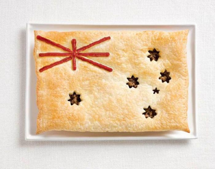 דגלים אוכל