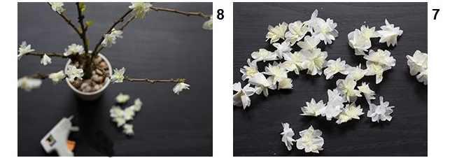 עבודת יד פרחים