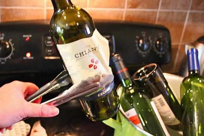 אגרטן מבקבוק יין
