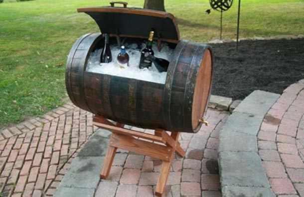 עיצובים מקוריים מחביות יין