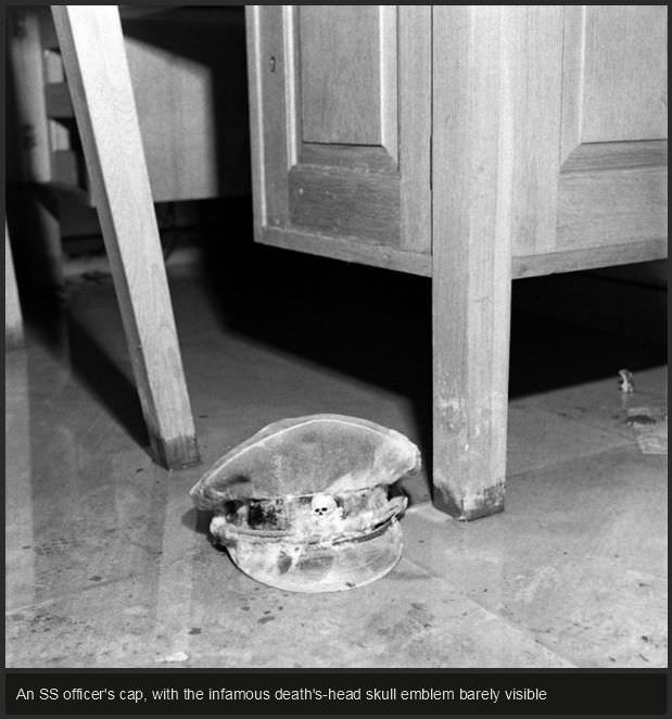 תמונות נדירות מהבונקר של היטלר
