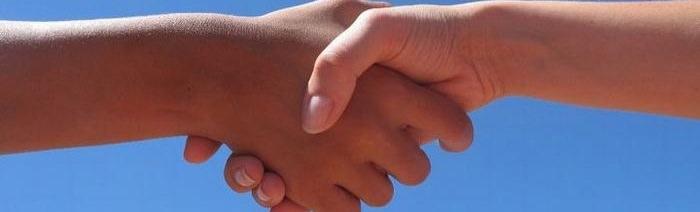 לחיצות יד