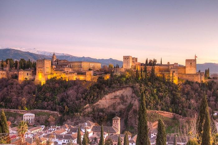 מקומות יפים בספרד