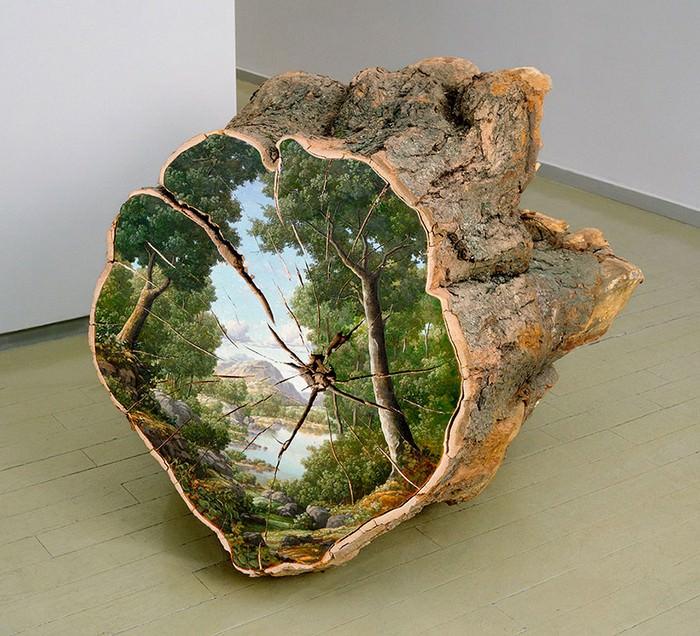 אומנות על עצים