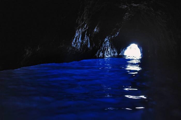 המערה הכחולה בקפארי