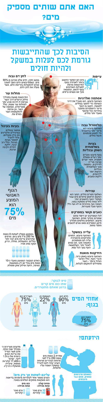הקשר בין שתיית מים להשמנה ומחלות