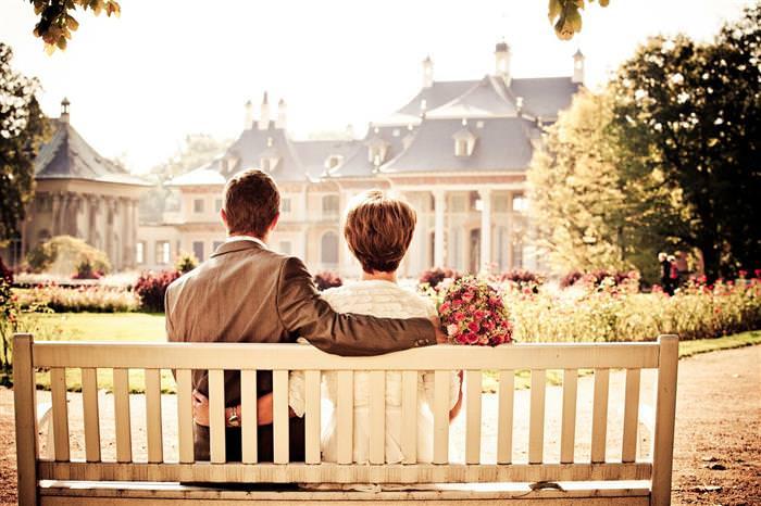 נישואים בהתחלה ו-20 שנה אחרי