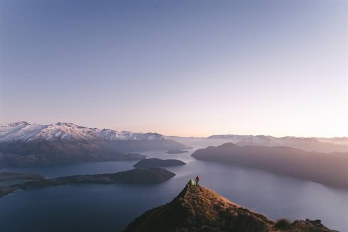 מסע ברחבי ניו זילנד