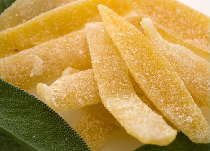 שימושים שונים ללימון: קליפות לימון מסוכרות