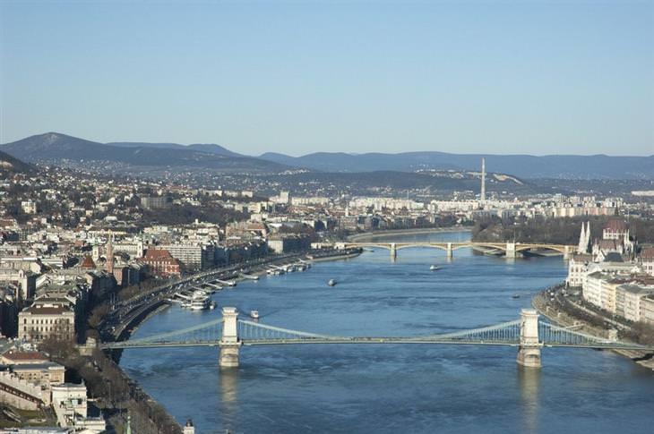 10 אטרקציות מומלצות בבודפשט: נהר הדנובה