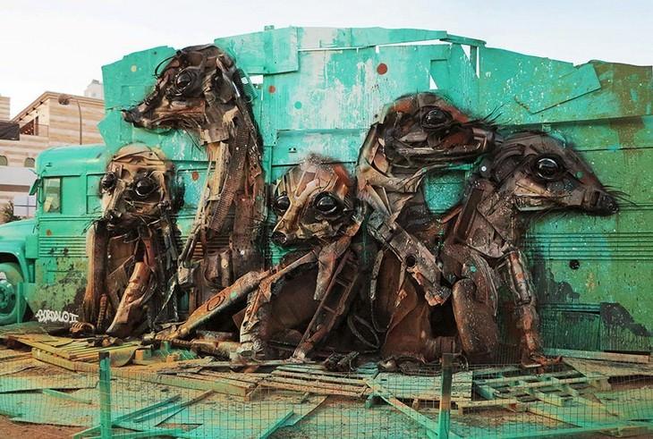 פסלים של ארתור בורדלו