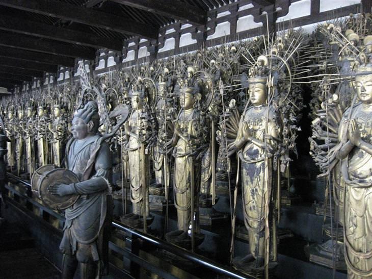 אטרקציות בקיוטו: מקדש סנג'וסנגנדו