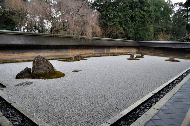אטרקציות בקיוטו: מקדש ריואן-ג'י