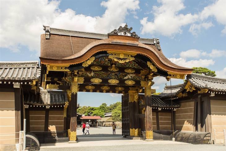 אטרקציות בקיוטו:  טירת ניג'ו