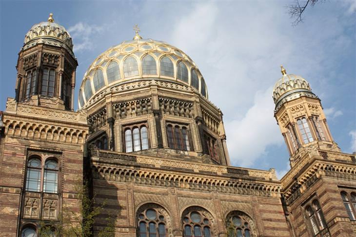 בתי הכנסת היפים בעולם: בית הכנסת החדש, גרמניה