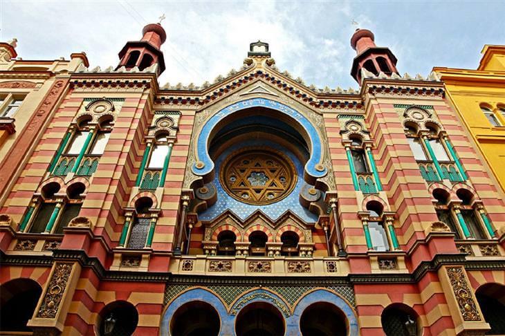 בתי הכנסת היפים בעולם: בית כנסת היובל, צ'כיה