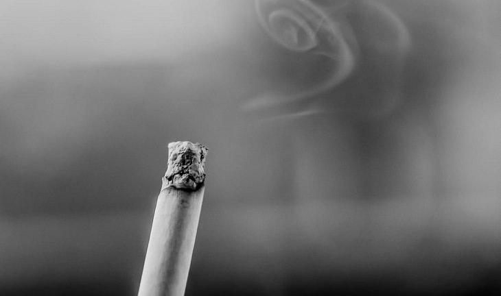 מזונות שעוזרים לנקות את הגוף מניקוטין: סיגריה דלוקה