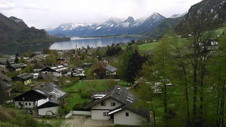 ערים ועיירות קטנות באוסטריה - סנט וולפגאנג