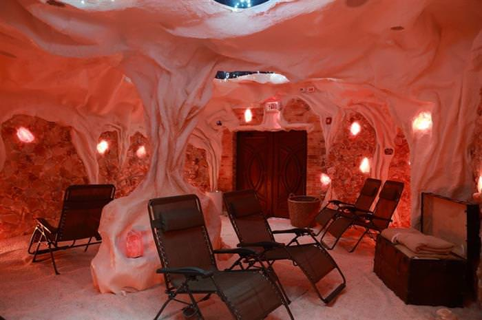 מערות מלח ברחבי העולם