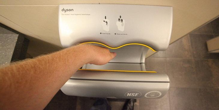 האם צריך להימנע משימוש במייבשי ידיים?