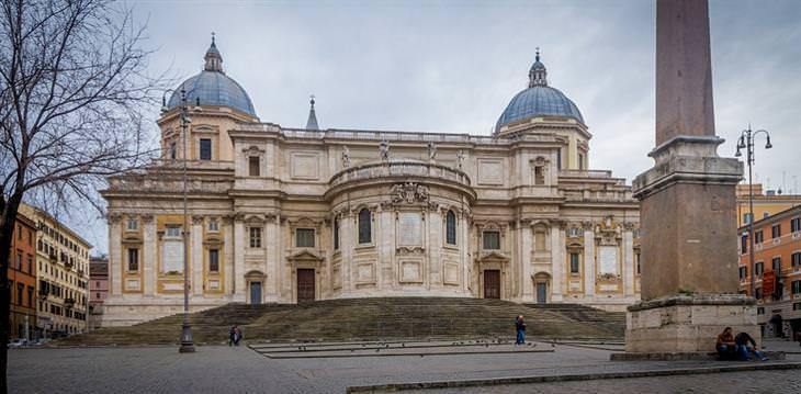 אטרקציות ברומא: בזיליקת סנטה מריה מג'ורה
