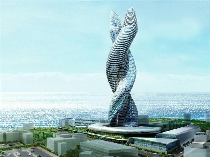 מבנים עתידיים ויחודיים
