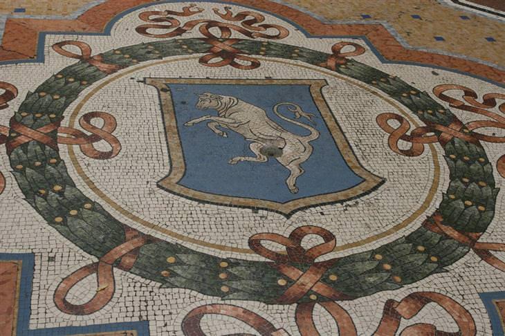 אתרים מומלצים במילאנו - גלריית ויטוריו עמנואל השני