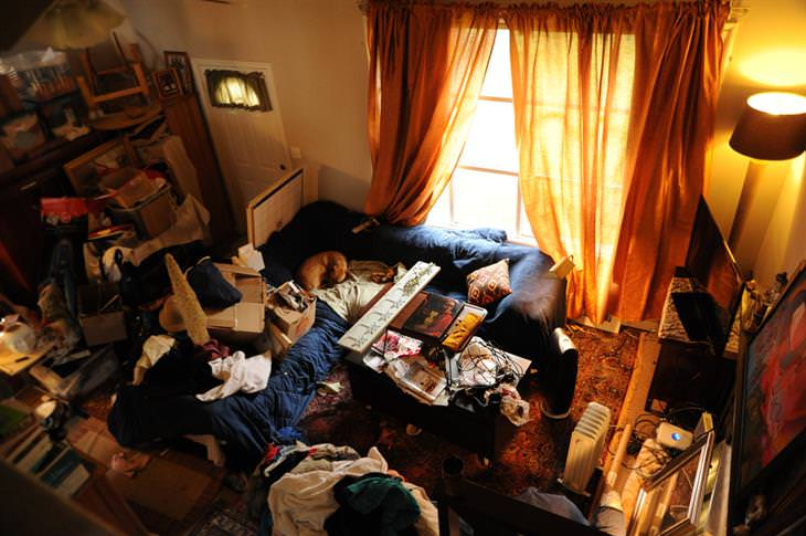 שיטת קון-מארי לסידור הבית: בית מבולגן