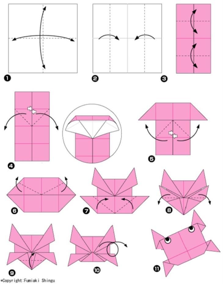רעיונות מדליקים ליצירת אוריגמי: הוראות הכנת סרון באוריגמי