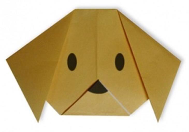 רעיונות מדליקים ליצירת אוריגמי: הכנת כלב באוריגמי