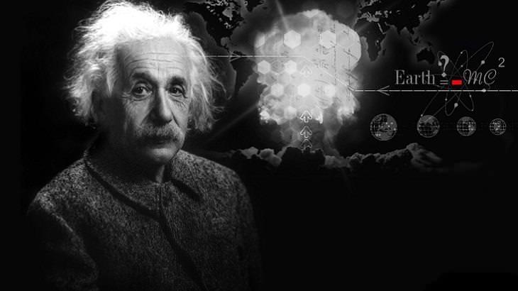 עצות לפתרון בעיות - תמונה של אלברט איינשטיין
