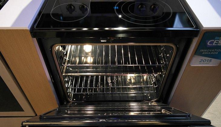בית נקי מחרקים: תנור פתוח
