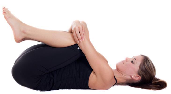 תרגילי יוגה להורדה במשקל - תנוחת הקלה – רוח