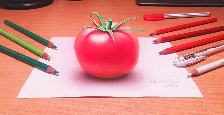 עגבנייה בתלת ממד