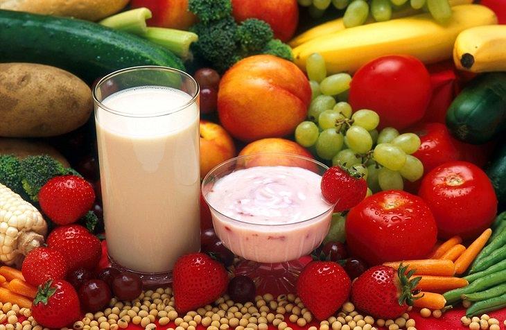 שילובי מזון לריפוי דלקות: פירות וירקות