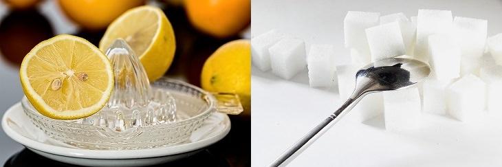 דרכים להעלים כתמי גיל: לימונים על מסחטה וכפית על קוביות סוכר
