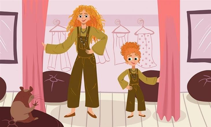הקשר המיוחד של אמהות ובנות