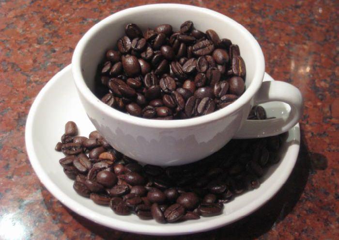 כוס של פולי קפה